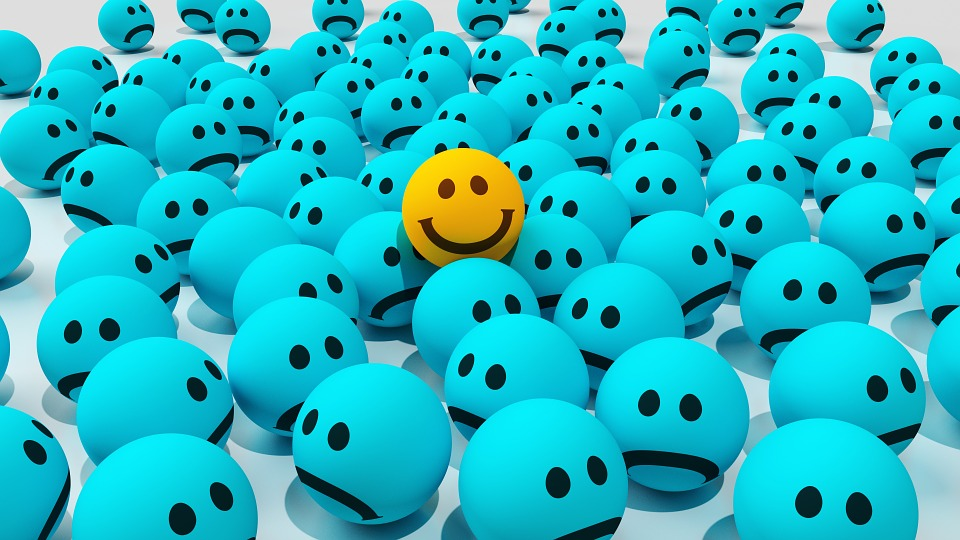 Stand out and be happy