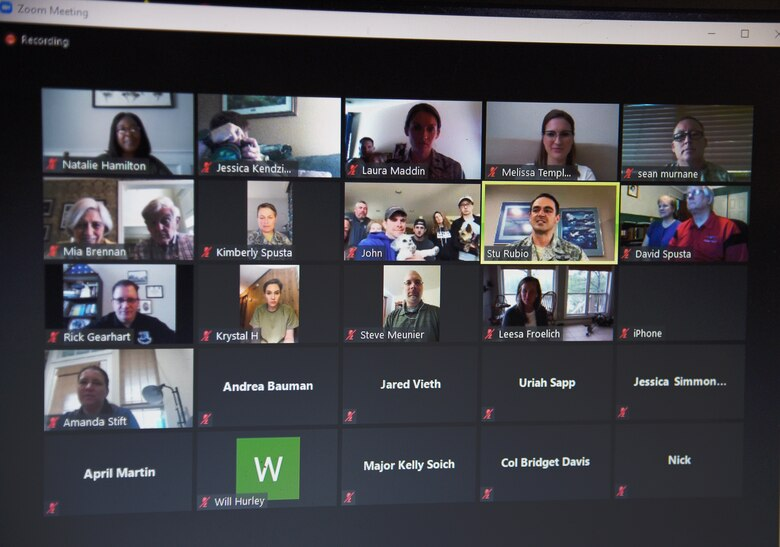 picture of virtual meeting