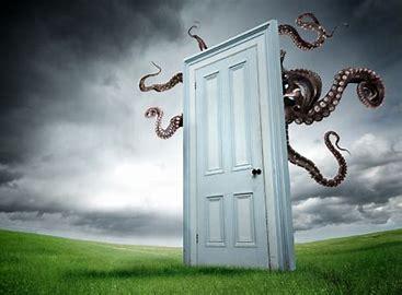 octopussy behind the door